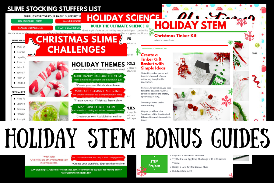 Christmas Stem Challenges.The Ultimate Holiday Stem Bundle Upsell Frustrated