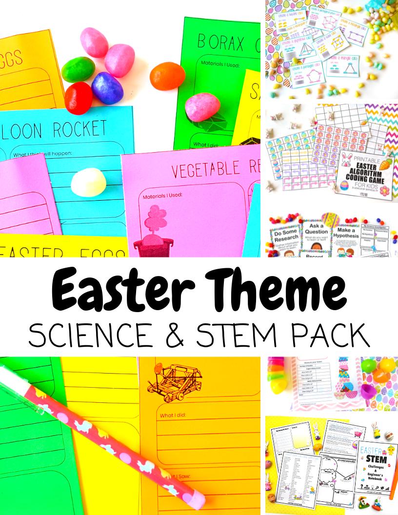 Easter STEM Pack Cover
